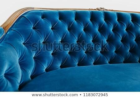 Azul tapicería moda diseno fondo espacio Foto stock © zeffss