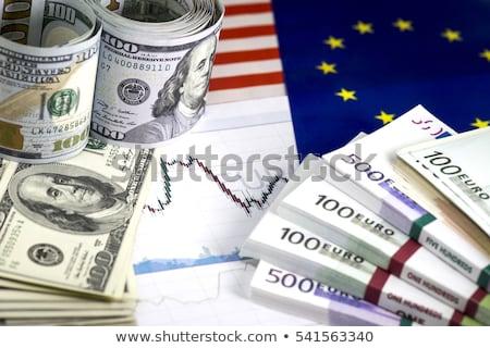 euro · euro · bankbiljetten · twee · honderd · geïsoleerd - stockfoto © ozaiachin
