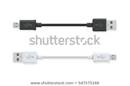 usb cable Stock photo © marylooo