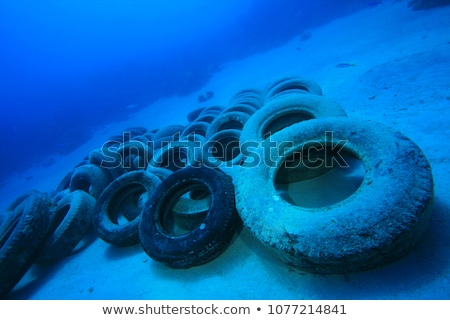 Car tires pollute the environment. Stock photo © justinb