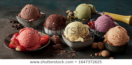 İtalyan dondurma lezzetli ev yapımı Stok fotoğraf © pixelmemoirs