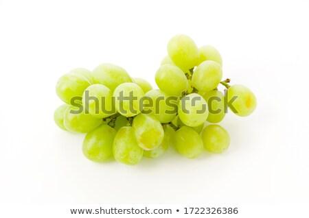 Green grapes - edible background Stock photo © pzaxe