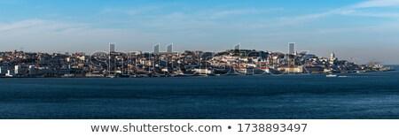 表示 リスボン 市 川 ポルトガル 空 ストックフォト © serpla