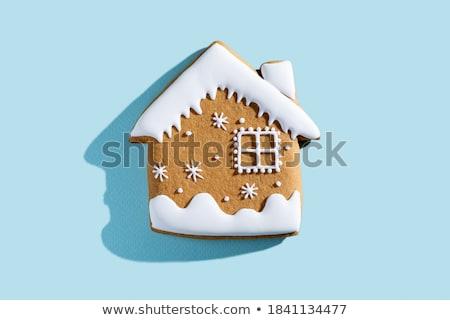 Casa cookies papel blanco alimentos cocina Foto stock © Masha