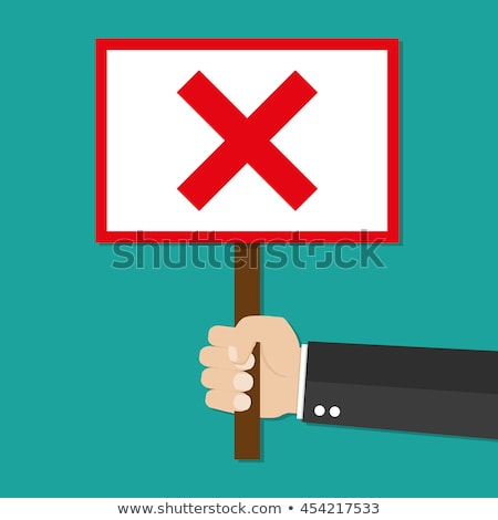 Głosowania głosowanie polu zielone Tablica strony Zdjęcia stock © stevanovicigor