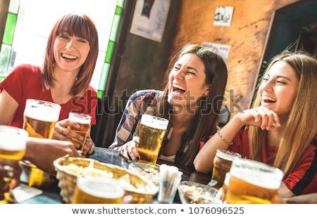 teenage girl with beer stock photo © photography33