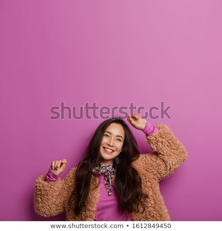 woman dancer posing with head tilted Stock photo © feedough