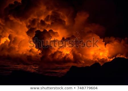 puesta · de · sol · remolino · hermosa · amanecer · australiano · playa - foto stock © kjpargeter