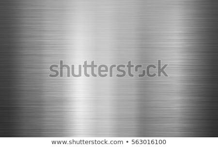 Tekstury metalu tapety stali proste powierzchnia Zdjęcia stock © kornienko