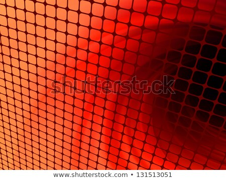 laranja · luz · 3D · mosaico · eps · vetor - foto stock © beholdereye