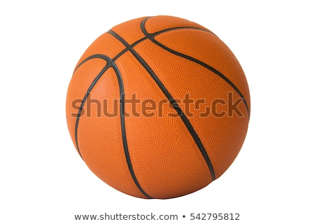 Basketball Isolated Stock photo © Lightsource