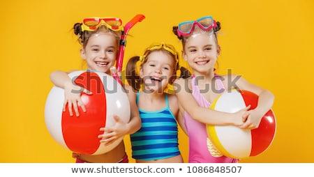 aantrekkelijk · meisje · sport · uniform · gymnasium - stockfoto © photography33