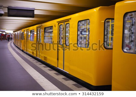 Subwaystation in Berlin Stock photo © elxeneize