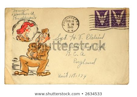 World War Two envelope Stock photo © Snapshot