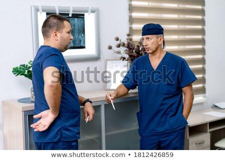 tıbbi · doktorlar · hastane · ofis · arkadaşları - stok fotoğraf © get4net