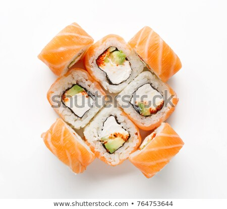 Detailed view of Maki Sushi Stock photo © frank11