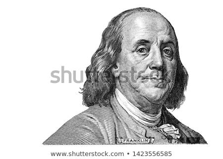 dollár · omg · portré · USA · pénz · amerikai - stock fotó © hypnocreative