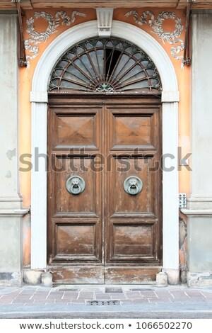 antieke · straat · Italië · typisch · gebouw - stockfoto © anshar