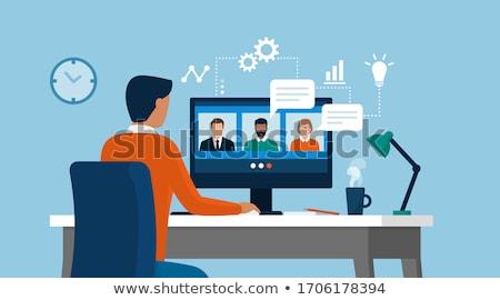 flexible analytics business concept stock photo © tashatuvango