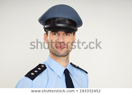 Portrait of sheriff Stock photo © oxygen64