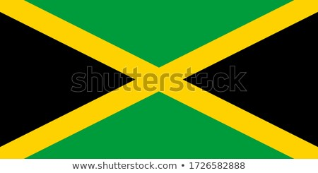 national colours of Jamaica Stock photo © perysty