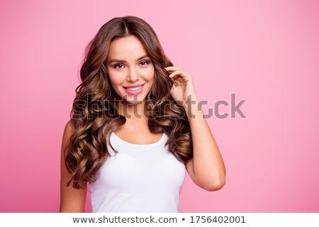 Mujer color terapia alfa spa Foto stock © Kzenon