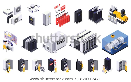 System unit with a monitor Stock photo © cherezoff