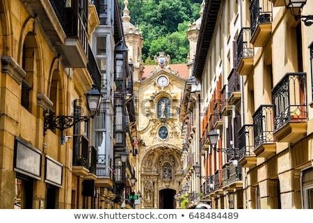 Espanha comunidade um famoso turista destinos Foto stock © photosil