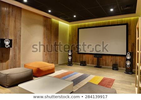 Home teatro film tecnologia film schermo Foto d'archivio © reticent
