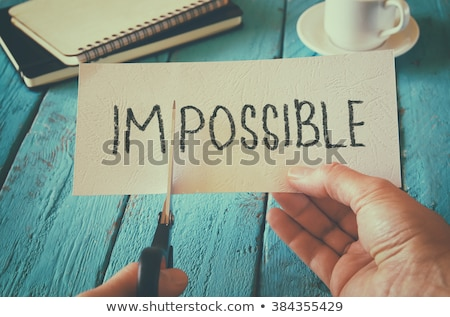 Everything is possible Stock photo © raywoo
