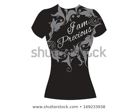i am precious tshirt template Stock photo © pathakdesigner