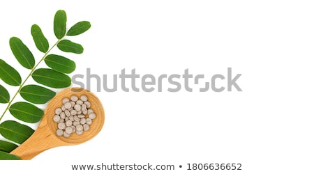 травяной таблетки изолированный белый медицинской Сток-фото © natika