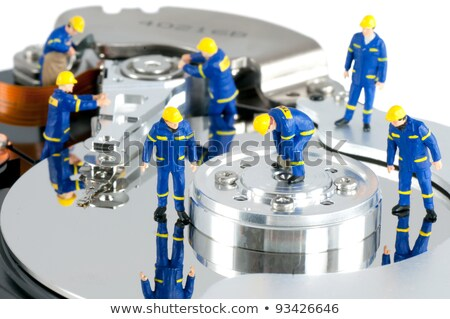 Workers repairing hard drive. Stock photo © Kirill_M