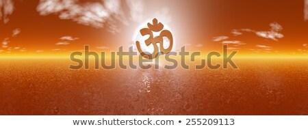 zen aum   3d render stock photo © elenarts