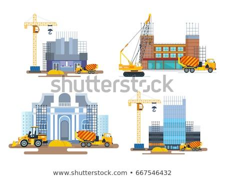 Foto stock: Edifício · estrutura · conjunto · roda · 12 · estilo