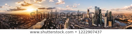 Panorama of Moscow Stock photo © d13