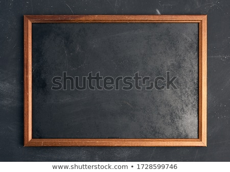Blackboard and chalk stock photo © tilo