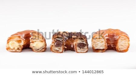 Blanche marché papier alimentaire déjeuner dessert Photo stock © Photooiasson