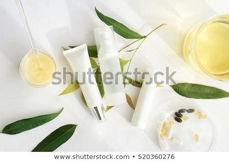 tratamento · de · spa · naturalismo · óleos · madeira · casa · beleza - foto stock © Moravska