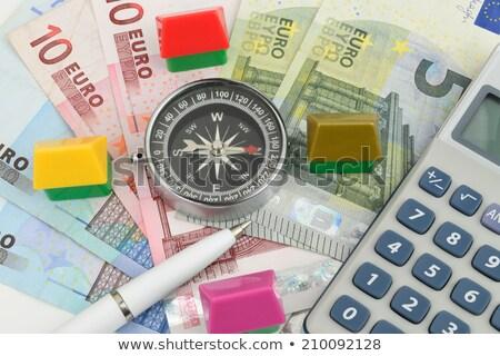 emelkedő · adósság · arany · dollárjel · mászik · lépcső - stock fotó © 3mc