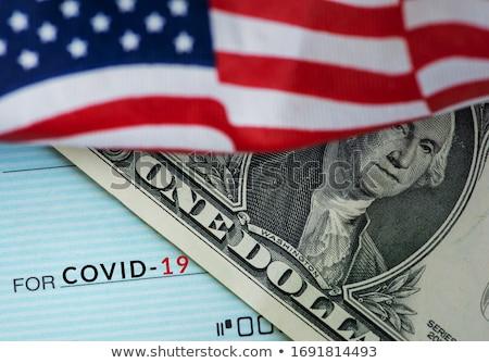 Finansowych ulga dług pomoc znak dolara Zdjęcia stock © Lightsource