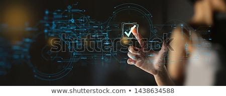 kalite · mühürlemek · vektör · ikon · örnek · stil - stok fotoğraf © robuart