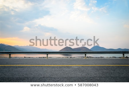Speed highway near mountains Stock photo © Anna_Om