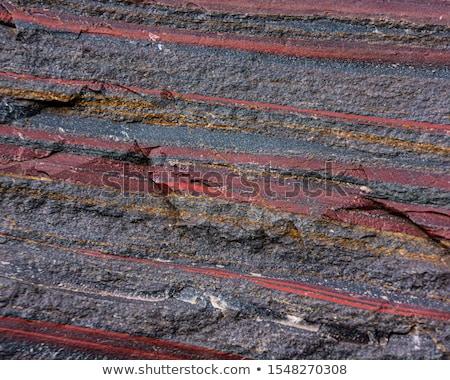 Hierro mineral luz fondo piedra blanco Foto stock © pixelman
