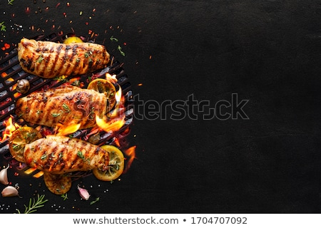 grilled delicious stock photo © zhekos