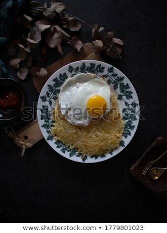 Still Life of Golden Potatoes on White Background Stock photo © ozgur