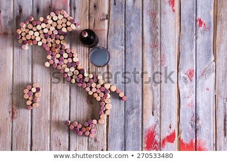 Pokaż Włochy sycylia wina twórczej starych Zdjęcia stock © ozgur
