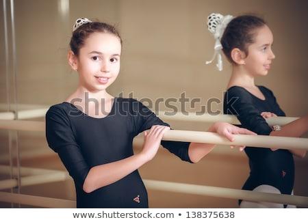 портрет мало балерина Cute девушки Сток-фото © konradbak