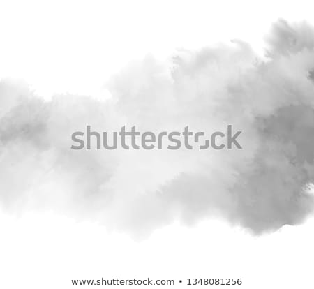 sky with black clouds   paint effect stock photo © ankarb