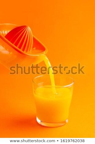 Juicer, on white background Stock photo © ozaiachin